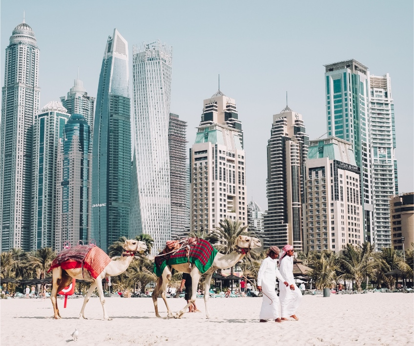 Nasze wieloletnie doświadczenie pomaga nam skutecznie realizować projekty biznesowe na Bliskim Wschodzie