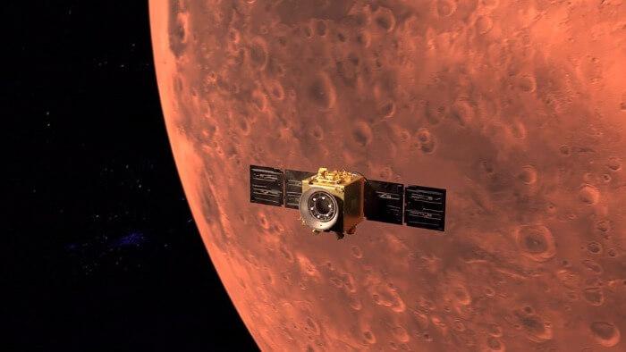 MK Business Link - Sonda kosmiczna ZEA dotarła na orbitę Marsa